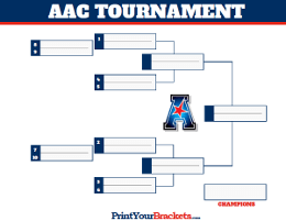 photo about Acc Tournament Bracket Printable named Convention Championship Event Brackets for Faculty