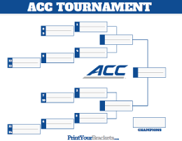 photograph regarding Acc Printable Bracket identify Meeting Championship Match Brackets for Faculty