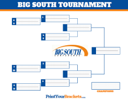 Big South Conference Championship
