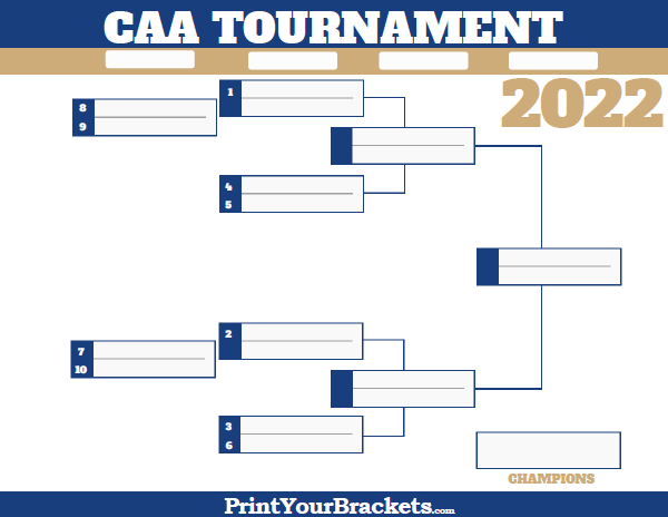 colonial athletic association conference tournament