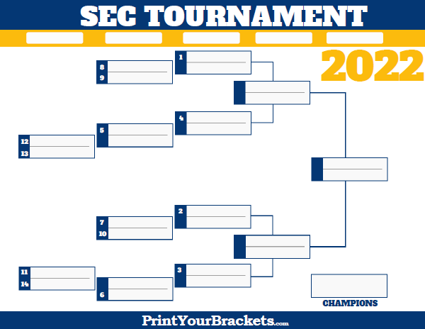 Delicate image for printable sec tournament bracket