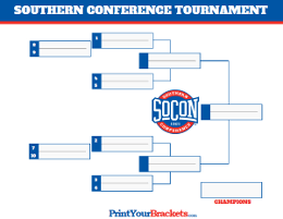 Southern Conference Championship