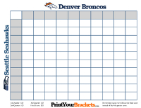 Custom Super Bowl Square Creator