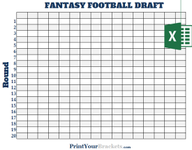 excel spreadsheet fantasy football draft boards. Black Bedroom Furniture Sets. Home Design Ideas