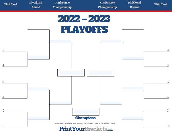 graphic about Printable Nhl Playoff Bracket titled Printable Nhl Bracket 2019