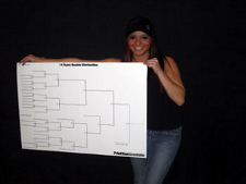 Frisbee Golf Tournament Brackets