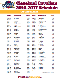 NBA Schedules