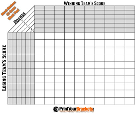 Super bowl pool template 2015 espn autos post for Block pool template