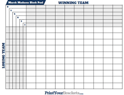 Ncaa Tournament Basketball Squares