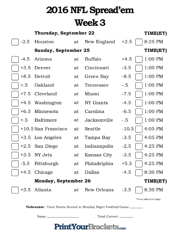 point spreads nfl this week nfl pick against the spread