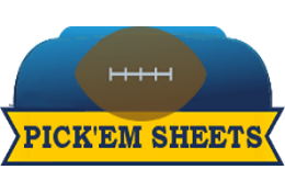 College Football Pick'em Sheets