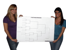 Poster Sized Tournament Brackets