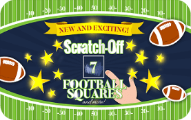 Scratch-Off Football Boards