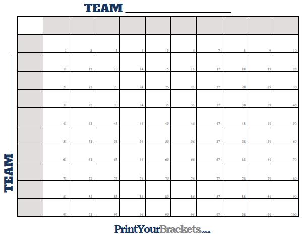 tournament bracket template word